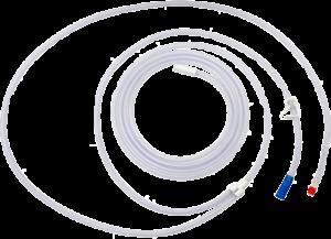 Tube d'aspiration à usage unique Avec deux connecteurs Fourni stérile. Boite de 10 tubes Réf. D110 100 002
