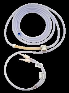 Tube d'irrigation à usage unique Fourni stérile. Boite de 10 tubes Avec la technologie RFID Réf. D110 100 001