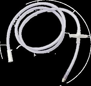Tube d'aspiration au vide Avec filtre Utilisable durant une période de 30 jours Réf. D110 100 003